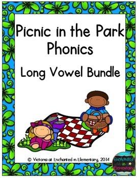 Picnic in the Park Phonics: Long Vowel Bundle