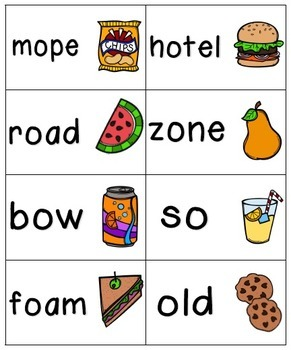 Picnic in the Park Phonics: Long Vowel Bundle