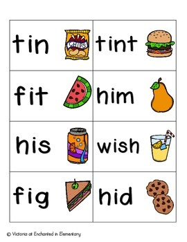 Picnic in the Park Phonics: Short I Pack