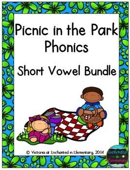 Picnic in the Park Phonics: Short Vowel Bundle