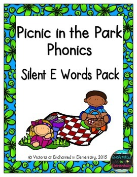 Picnic in the Park Phonics: Silent E Words Pack