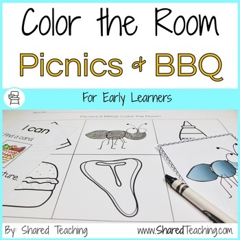 Picnics and BBQ Color the Room