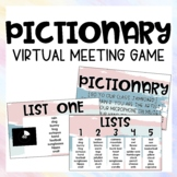 Pictionary: Virtual Meeting Game  |  Distance Learning