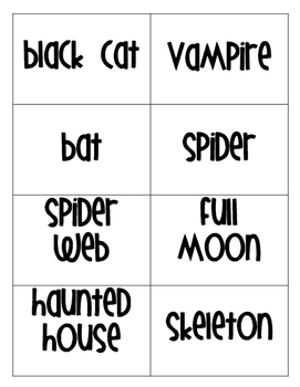 Pictionary: Halloween Edition!