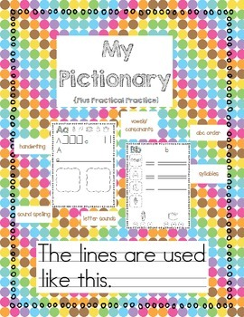 Pictionary Plus Practical Practice Two Line Style