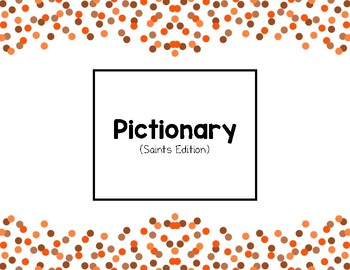Pictionary (Saint Edition)