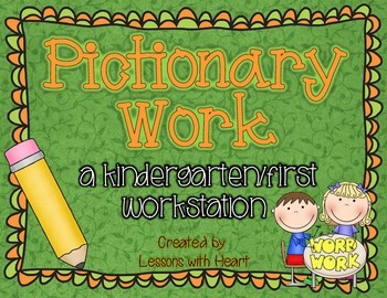 Pictionary Work