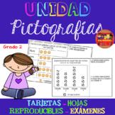 Unidad Pictografías en Español Grado 2 / Pictographs Unit in Spanish 2nd Grade