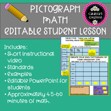 Pictograph Editable Student Assignment