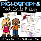 Pictograph Task Cards and Quiz