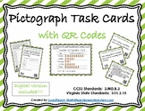 Pictograph Task Cards with QR Codes- Set 4