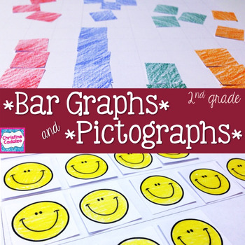 Pictograph and Bar Graph Math Unit- Second Grade