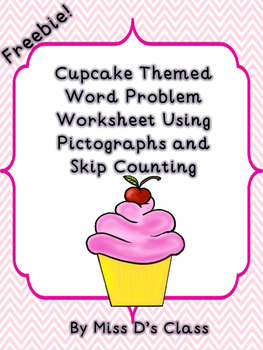 Pictograph and Skip Counting Word Problems Worksheet