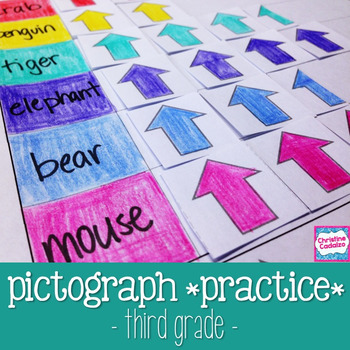 Pictograph Practice - Third Grade