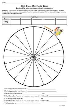 Pictographs, Bar Graphs, Circle Graphs, Show Information 3 Different Ways Graph