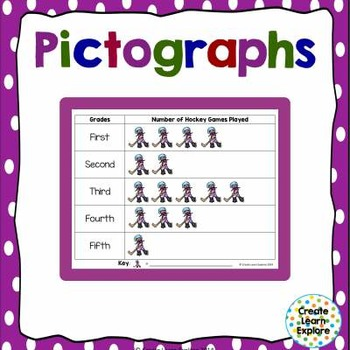 Pictographs Build Them Winter Themed