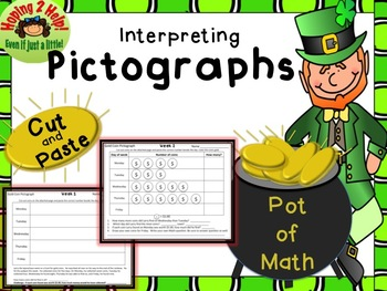 Pictographs - St. Patrick's Day