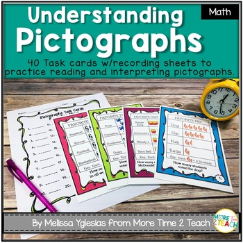 Pictographs: Task Cards