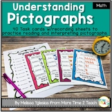 Graphing and Data: Pictographs Task Cards