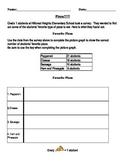 Pictographs Worksheets