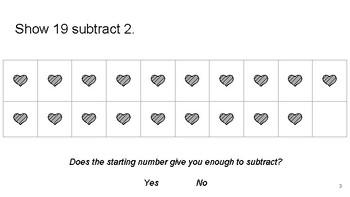 Pictorial Subtraction Lesson
