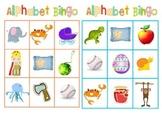 Picture Alphabet Bingo