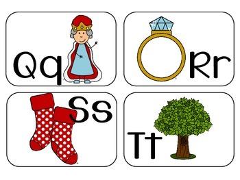 Picture Alphabet Cards