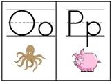 Picture Alphabet Flash Cards