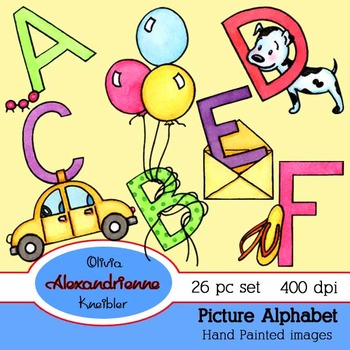 Picture Alphabet for Children
