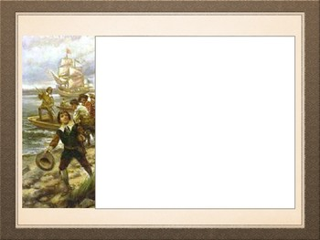 Picture Analysis of Pilgrims and Puritans PowerPoint