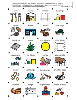 Picture-Based Category Game