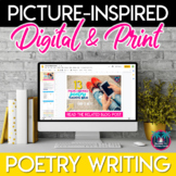 Picture-Inspired Poetry Writing Assignment - Distance Learning