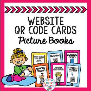 Picture Book Author QR Code Cards