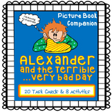 Alexander and the Terrible ...Very Bad Day {Picture Book Companion}