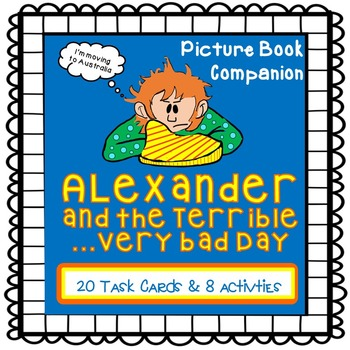 Alexander and the Terrible ...Very Bad Day {Picture Book C