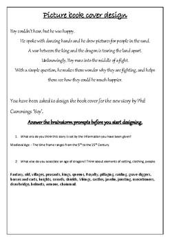 Picture Book Cover Design Task