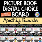 Picture Book Digital Choice Boards - MONTHLY BUNDLE | Goog