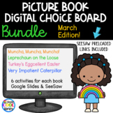 Picture Book Digital Choice Boards March - BUNDLE | Google