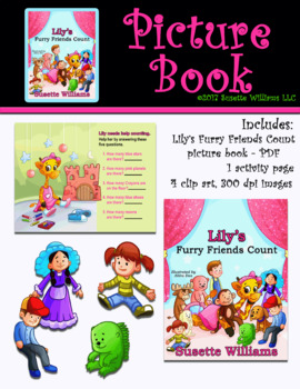 Picture Book: LILY'S FURRY FRIENDS COUNT