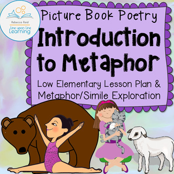 Metaphors and Similes Poetry Lesson based on picture books