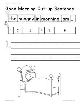 Pancakes Literature Lesson Plan and Language Arts Printables