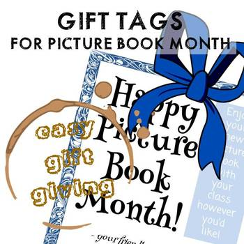 Picture Book Month Gift Tags
