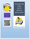 Picture Book Online Read Aloud Cards with QR Codes