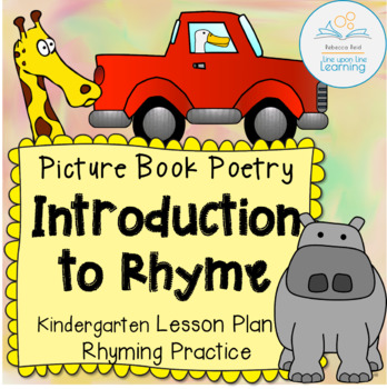 Rhyme Poetry Lesson based on picture books