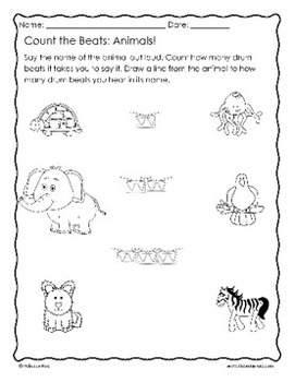 Syllables and Rhythm Poetry Lessons based on picture books