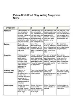 Picture Book Project Guidelines