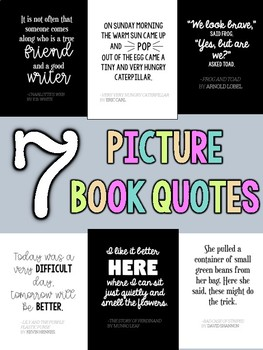 Picture Book Quotes