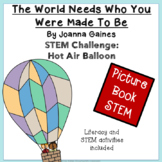 Picture Book STEM Challenge: The World Needs Who You Were