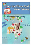 Picture Book Study: Are we there yet? by Alison Lester Comprehension, Activities