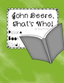 Picture Book Study for John Deere, That's Who! by Tracy Maurer